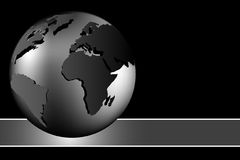Fundo abstrato - globo do mundo Fotos de Stock Royalty Free