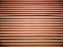 Fundo abstrato industrial O produto é feito das tubulações horizontais paralelas retas Fotografia de Stock Royalty Free
