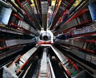 Fundo abstrato industrial tecnológico Imagem de Stock