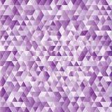 Fundo abstrato lilás dos triângulos Foto de Stock Royalty Free