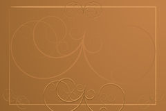 Fundo abstrato - menu do restaurante Imagens de Stock Royalty Free