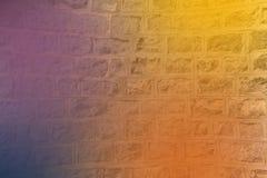 Fundo abstrato multicolorido no muro de cimento Foto de Stock