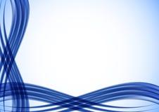 Fundo abstrato na cor azul Imagens de Stock Royalty Free