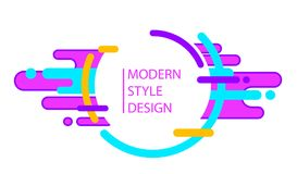 Fundo abstrato na moda Imagem de Stock