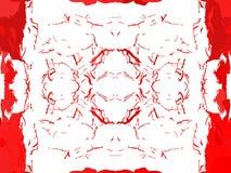 Fundo abstrato nas máscaras de tons vermelhos Foto de Stock