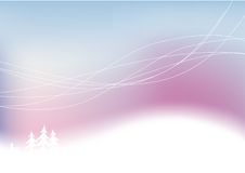 Fundo abstrato nevado do inverno. ilustração royalty free