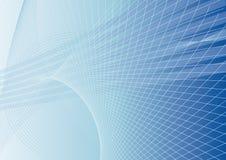 Fundo abstrato no azul Imagens de Stock