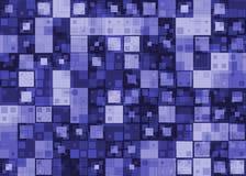 Fundo abstrato no estilo da olá!-tecnologia Fotografia de Stock