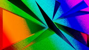 Fundo abstrato obtuso das texturas do triângulo ilustração stock