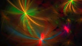 Fundo abstrato ondulado com luzes Ilustração do Vetor