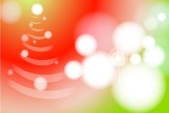 Fundo abstrato para o ano novo e o Xmas Foto de Stock Royalty Free