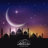 Fundo abstrato para o kareem de ramadan Fotografia de Stock