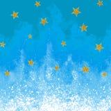Fundo abstrato para o projeto Flama fria Chama Sparkly ilustração stock