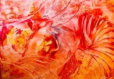 Fundo abstrato pintado Foto de Stock