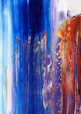 Fundo abstrato pintado mão Imagem de Stock Royalty Free