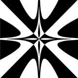 Fundo abstrato preto e branco Imagem de Stock