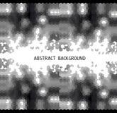fundo abstrato preto e branco no triângulo m Imagens de Stock Royalty Free
