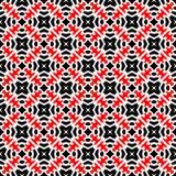 Fundo abstrato preto e vermelho ilustração royalty free