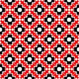 Fundo abstrato preto e vermelho ilustração stock