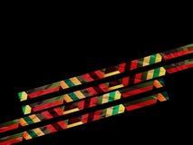 Fundo abstrato, projeto geométrico, ilustração do vetor Tesselation geométrico da superfície colorida ilustração royalty free