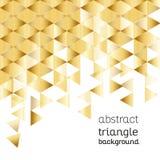Fundo abstrato, projeto triangular Fotos de Stock