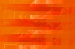 Fundo abstrato quadrado alaranjado Fotografia de Stock