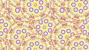 Fundo abstrato que consiste em mandalas Imagens de Stock Royalty Free