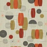 Fundo abstrato retro de matéria têxtil com folha de prova do grunge Fotografia de Stock