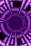 Fundo abstrato roxo Imagens de Stock
