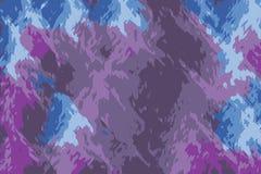 Fundo abstrato roxo com formas e testes padrões da chama ilustração royalty free