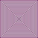 Fundo abstrato roxo e branco do vetor da ilusão Imagem de Stock