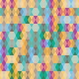 Fundo abstrato sem emenda geométrico Fotografia de Stock Royalty Free