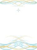 Fundo abstrato simétrico ilustração royalty free