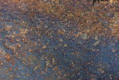 Fundo abstrato - superfície da chapa de aço Imagens de Stock