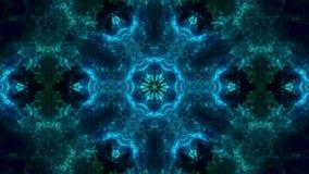 Fundo abstrato surrealista Teste padrão abstrato do caleidoscópio para o projeto filme