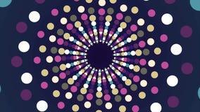 Fundo abstrato surrealista Teste padrão abstrato do caleidoscópio para o projeto video estoque