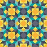 Fundo abstrato - teste padrão sem emenda geométrico do vetor Elemento do projeto Imagens de Stock