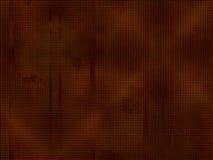 Fundo abstrato textura pontilhada, versão escura ilustração do vetor