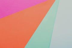 Fundo abstrato textured geométrico da cor Fotografia de Stock