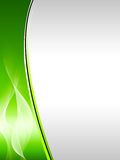 Fundo abstrato verde ilustração stock