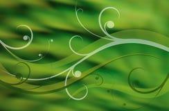 Fundo abstrato verde Imagens de Stock Royalty Free