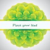 Fundo abstrato verde Fotos de Stock