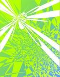Fundo abstrato - verde ilustração do vetor