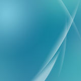 Fundo abstrato verde da curva Imagens de Stock Royalty Free