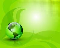 Fundo abstrato verde da fantasia Foto de Stock