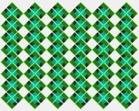 Fundo abstrato verde da forma Imagens de Stock