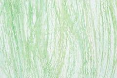 Fundo abstrato verde e branco pintado Fotos de Stock Royalty Free
