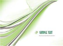 Fundo abstrato verde. Vetor Imagens de Stock