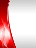 Fundo abstrato vermelho Fotos de Stock Royalty Free
