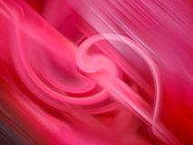 Fundo abstrato vermelho Foto de Stock Royalty Free